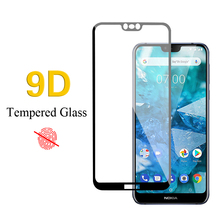 9D Tempered Glass For Nokia 2.1 3.1 5.1 6.1 Plus Screen Protector Film 7.1 plus film