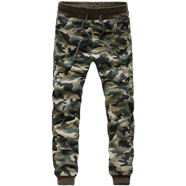 Camouflage Print Jogger Pants Outdoors Joggers Men  New Fashion Harem Pants Sweat Pants Men Trousers