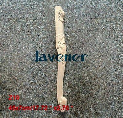 Z19-45x7 см из резного дерева аппликация плотник наклейка деревообрабатывающие плотник ножки стола
