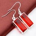 Free Shipping - Europe and America New Xmas Gift Charm Crystal Earrings Elegant Earrings For Women E0048