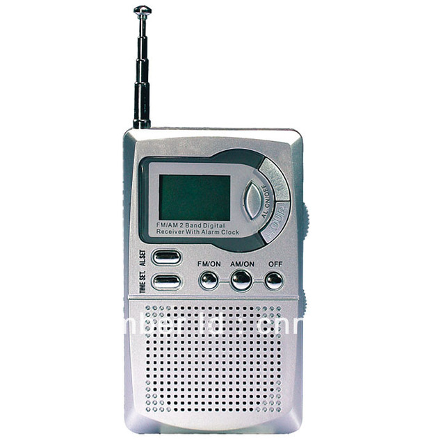 2013 HOT Portable AM FM Pocket Radio 2 Bands Receiver DC 3V Mini