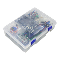 Free Shipping Basic Starter Learning Kit UNO Upgrade Version with Plastic Box for arduino Diy Kit