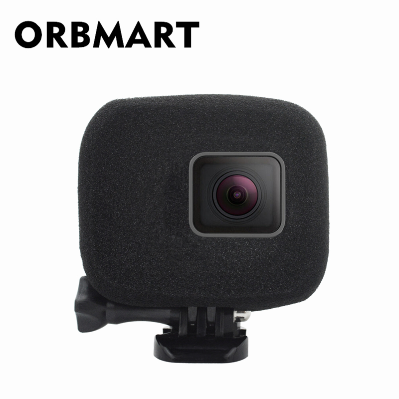 Considerate Orbmart Sponge Foam Cover Case Wind Noise Reduction Windshield Enhanced Audio Capture For Gopro Hero 5 6 7 Black Sport Camera Bracing Up The Whole System And Strengthening It Accessories & Parts Camera/video Bags