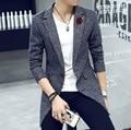 Autumn / men Woolen coat/ men coat /In the long section/ Fashion Slim /Comfortable/ suit collar design/tb211002