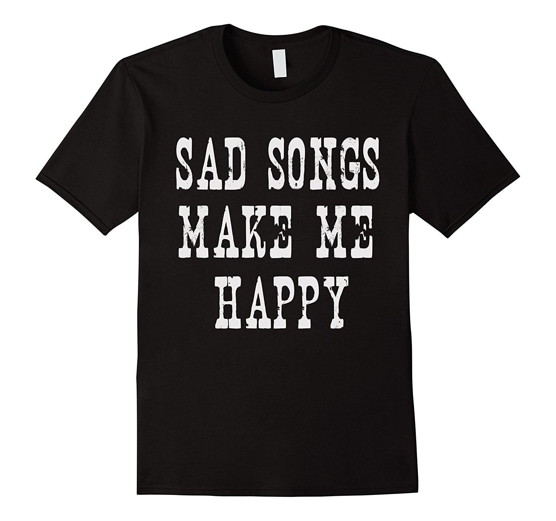 Gildan Sad Songs Make Me Happy Emo Graphic Tee Shirt