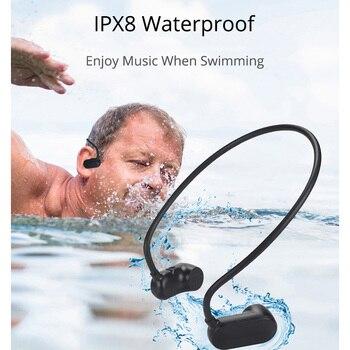 ISKAS Earphone Headphone Buttons Headphone Bass Musica Electronics Sport Swim Technology Bone Conduction Dynamic Music 8GB 3189