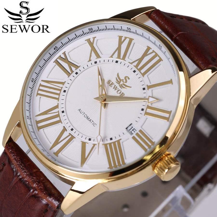 Relojes Watches Men Top Brand Luxury Automatic Mechanical Watch Mens Fashion sport Wristwatch relogio masculino Reloj Hombre 2016 wilon fashion brand top quality luxury automatic watch male skeleton mechanical watch relojes hombre marca famosa