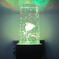 Fashion Simple Modern Wall Sconce Crystal LED Wall Light For Home Indoor Lighting Bedside Lamp Integrated Aluminum Arandela