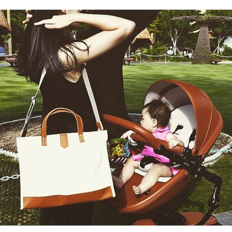 Grand bébé maternité sacs sac à langer sac à dos bébé organisateur sacs maternels pour mère sac à main Nappy sac à dos avec sac intérieur