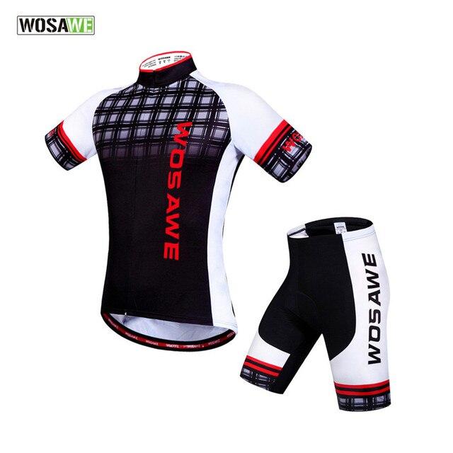 WOSAWE 2018 Team Ciclismo Cycling Short Men Cycling Jersey Bicycle MTB  Sportswear Suit Mountain Bike Clothing 164941956