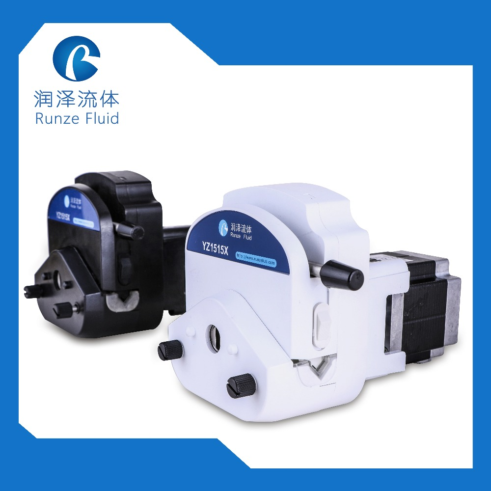 YZ15 Food Grade 24v Peristaltic Liquid Pump with Silicon Tube Wall 1 16 Stepper Motor