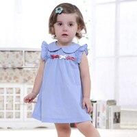 Baby Girls Dress Cotton Sleeveless Summer Dress Fashion Brand Kids Princess Dresses Children Clothes 18 Moths