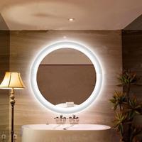 Современный светодио дный светодиодный зеркальный светильник светодио дный круглый светодиодный настенный бра для туалетной комнаты зерк