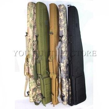 Đa 120 cm Gun Rifle Túi Chiến Thuật Ngoài Trời Mang Theo Túi Quân Gun Case Shoulder Pouch Đối Airsoft Chụp Sơn Trò Chơi