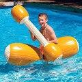 4 шт./компл.  плавающий поплавок для бассейна  надувной бревенчатый набор  водный плавающий ряд  Спортивная игрушка для детей  для взрослых  г...