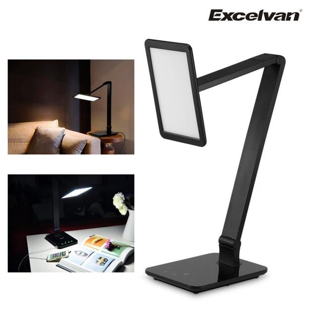 Excelvan USB Flexible Reading LED Light Smart Touch LED Desk Lamp ...