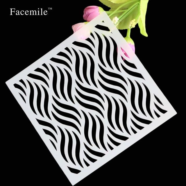 Scrapbooking Collection En Plastique Vague Motif Designer