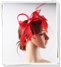 17 colors fashion sinamay material fascinator headpiece birthday hair accessories church font b hat b font