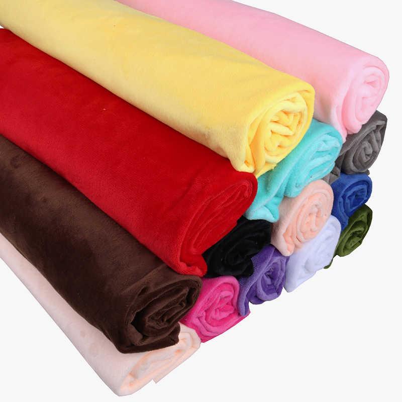 Nanchuang krótka z pluszu Super ściereczka do majsterkowania ręcznie robione poduszki buty zabawki piżamy pościel materiał do szycia 50x50cm
