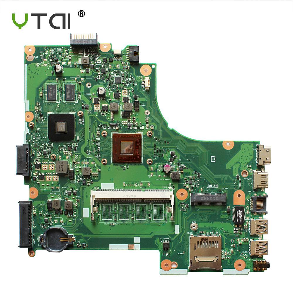 цена на YTAI Original For ASUS X450E X450EP REV 2.0 A4-5100 laptop notebook motherboard DDR3 HD8330 1G