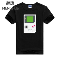 Game Fans Handheld Console Retro Game Console GAME BOY T Shirts Men S Colorful Game Boy