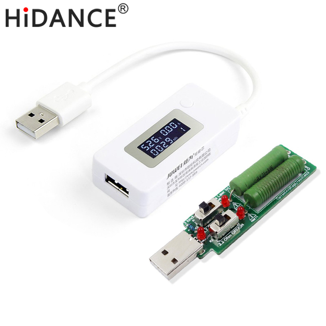 afa96ebf1b Display Digital Médico Capacidade Da Bateria banco de potência Carregador  USB Tensão Tester Atual medidor Detector