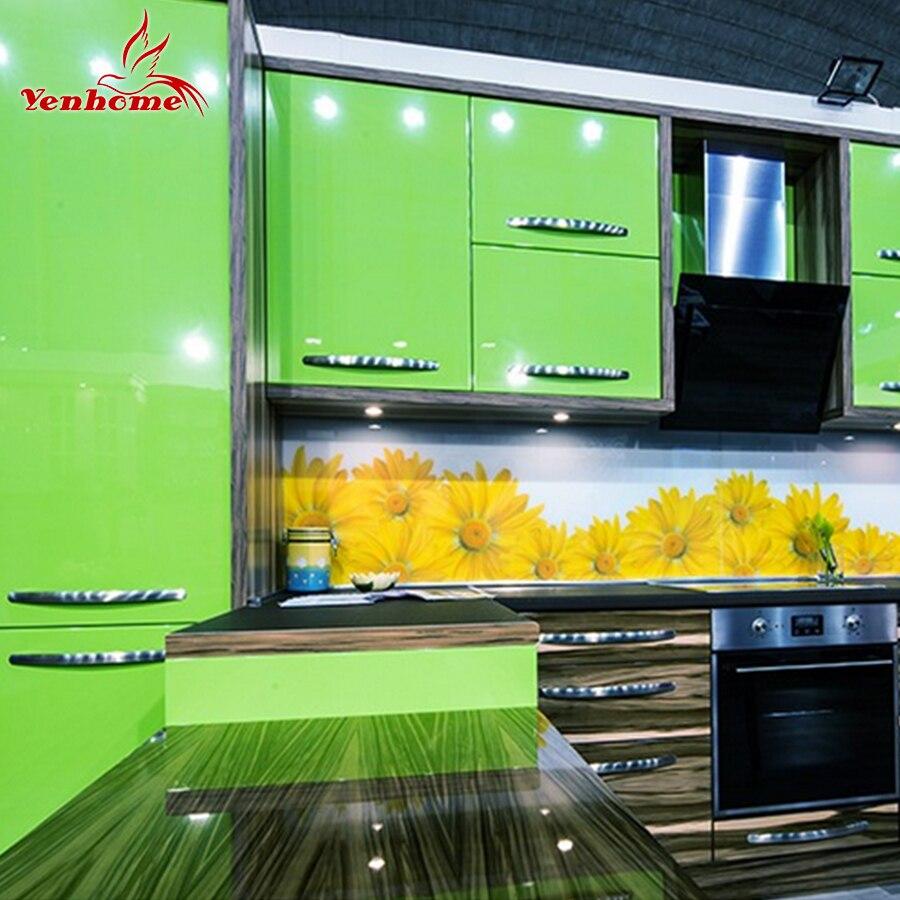 3 m/5 m/10 m pintura Rosa vinilo impermeable película decorativa Auto adhesivo papel pintado rollo para la cocina muebles de pvc pegatinas decoración para el hogar