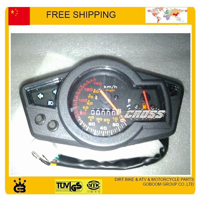 Compteur de vitesse numérique universel LED odomètre tableau de bord ATV, pièces de moto de vélo de rue livraison gratuite