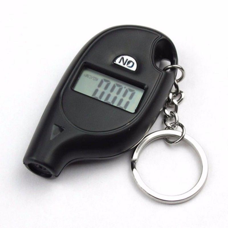 LCD Display Schlüssel Reifen Manometer Auto Zubehör Schwarz ABS Ersatz Teile