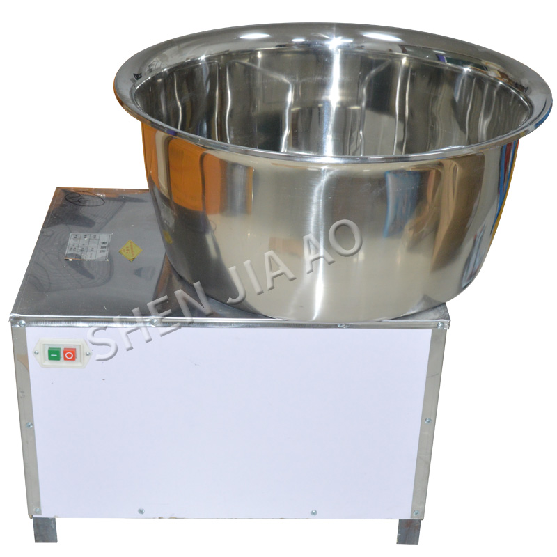 Commercial Automatic Dough Mixer 220V/110V 30kg stainless steel Mixer Stirring Mixer the Pasta Machine Dough Kneading HMP-30Commercial Automatic Dough Mixer 220V/110V 30kg stainless steel Mixer Stirring Mixer the Pasta Machine Dough Kneading HMP-30