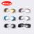 Winla Rosa Moda Espelho óculos de Sol óculos de Sol Dos Homens Do Vintage Duplo-Bridge Transparente Quadro Óculos De Sol Dos Homens Novo Escudo Óculos de Proteção UV400