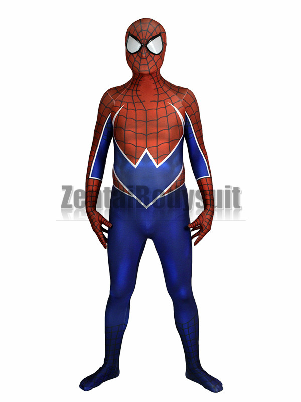 3D Printing Spider Punk Bodysuits Spiderman Costume the spandex Punk Rock spiderman cosplay costumes