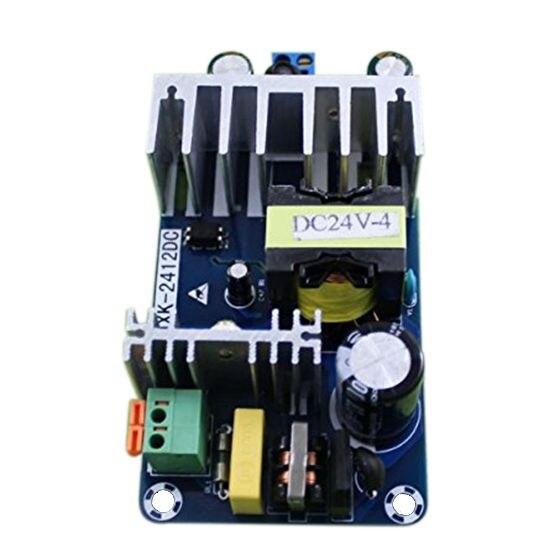 2 pz 24 v Switching Power supply Board 4A 6A modulo ad alta potenza bare board AC-DC Modulo di alimentazione Blu