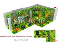 Экспортируется во Францию Крытый зоны играть CE утвержден детей Детские площадки indoor Экологичные Материал hz 160802d