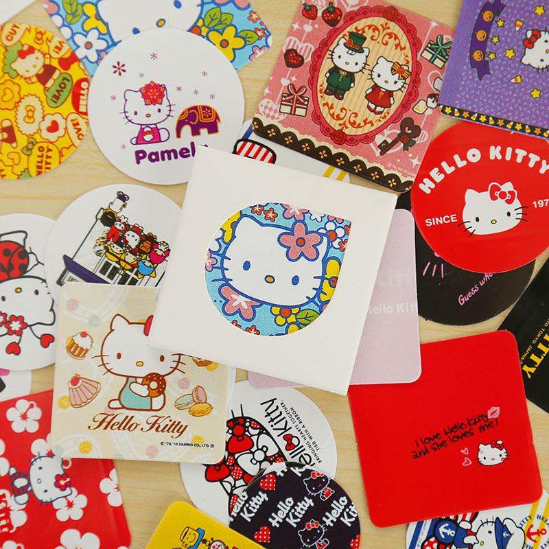 38 Pcs/box Cat Mini Paper Sticker Decoration DIY Ablum Diary Scrapbooking Sealing Sticker Kawaii  Stationery