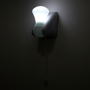 Image 5 - Portable Wire LED Bulb Cabinet Lamp Night Light Battery Operated Self Adhesive Wall Mount Light For Bedroom Corridor Toilet