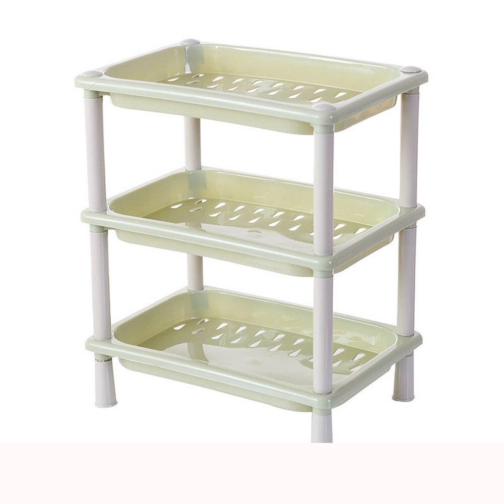 Home Storage Holders 3 Tier Plastic Corner Organizer Bathroom