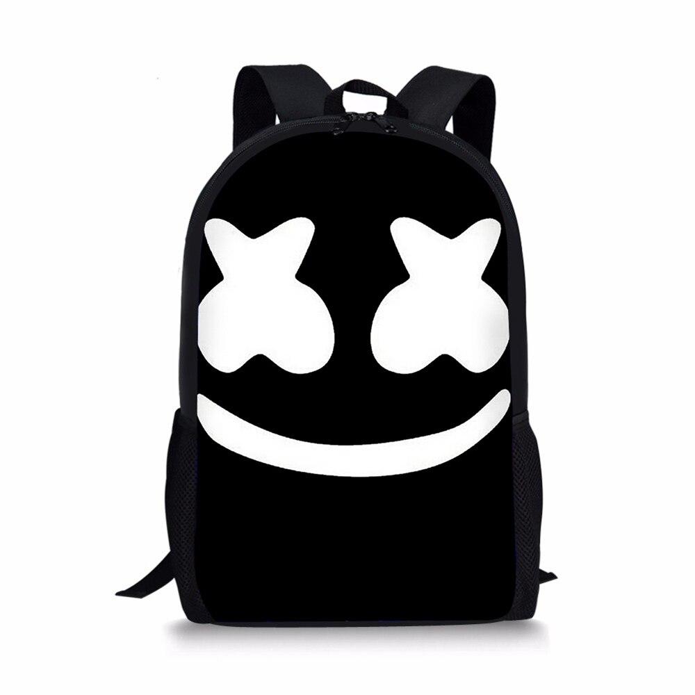 ec7919f2370c Подробнее Обратная связь Вопросы о Школьная сумка для детей, рюкзак для  мальчиков и девочек, 3D рюкзак с принтом Marshmello, Женский школьный рюкзак  для ...