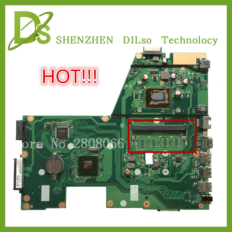 HOT For ASUS X551CA Laptop motherboard X551CA mainboard REV2 2 1007u freeshipping
