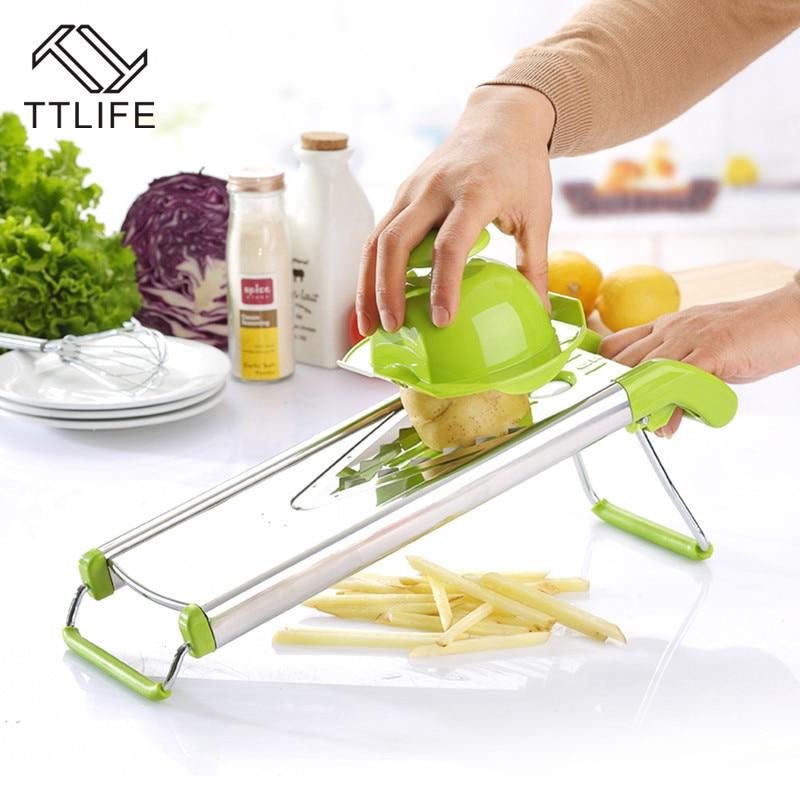 TTLIFE Zufällige Farbe Multifunktionaler V-Slicer Mandoline Slicer - Küche, Essen und Bar - Foto 2