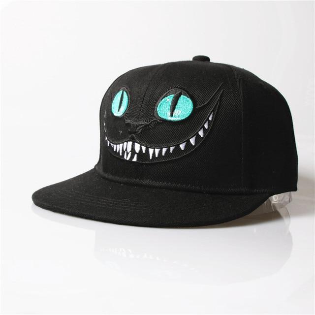 ALLKPOPER Baseball Cap snapback Cheshire Cat Casquette Cartoon hats   Caps  Men Women Hat Hip Hop Cap Bone Masculino k-pop b9b8b5ff0b2