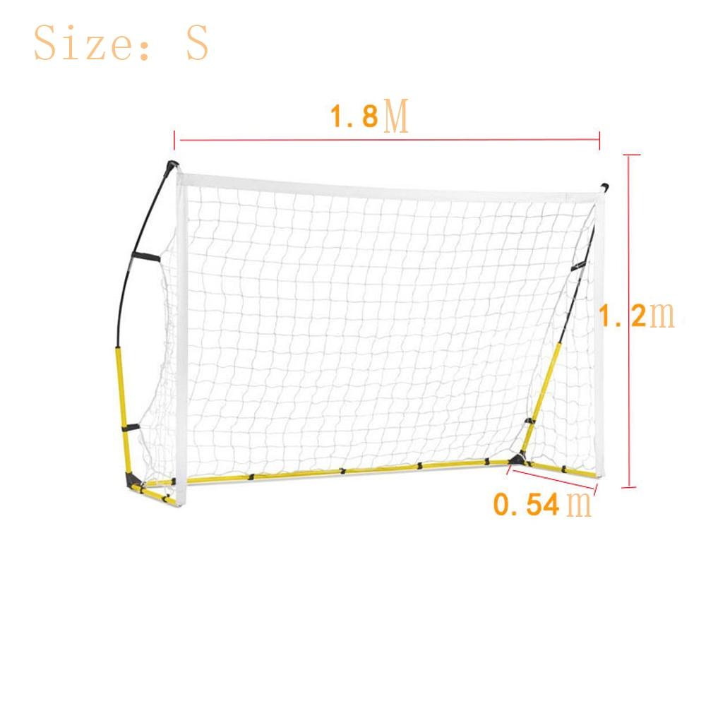 2019 Новая Складная портативная с футбольной целью футбольная тренировочная сетка для детей для взрослых Открытый тренировочный инструмент s m l Бесплатная DHL - 4
