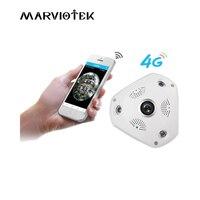 960P 3MP Wireless VR Ip Camera Sim Card 4G LTE H 264 Security Surveillance Panoramic 360