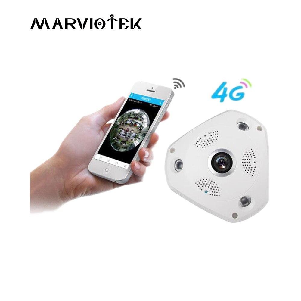 3g/4G LTE Беспроводная ip камера sim карта 3MP сигнализация vr камера наблюдения 360 градусов IP ptz камера автомобиль 960 P с SD картой слот