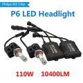 2X 9006 HB4 LED Auto Car LED Bulb Headlight Fog Lamp Driving Light Conversion Kit 10400LM With Philips MZ Chip High Power