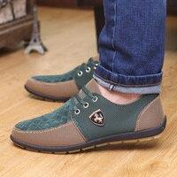 Hommes vulcaniser chaussures 2019 nouveaux hommes toile chaussures respirant homme chaussures décontractées baskets de créateur hommes mocassins sans lacet hommes chaussures