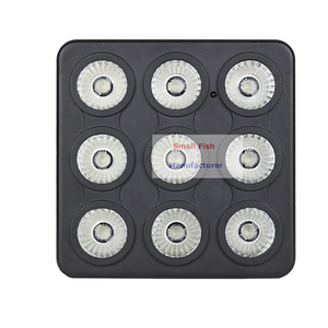 Image 3 - 4 pièces/lot DMX/IR télécommande LED spectacle panneau 9X4W RGBW 4IN1 luxe DMX 8 canaux LED plat Par lumière 90 240V livraison gratuite