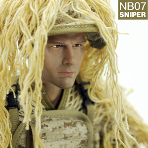 Image 1 - PATTIZ 1/6 12sharp shooter soldier action figure  high quality military model  action figure  Accessories New boxed