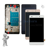 New 5.0'' Full LCD DIsplay + Touch Screen Digitizer Assembly With Frame For Huawei G Elite ALE L23 ; Tracking ; 100 Tested