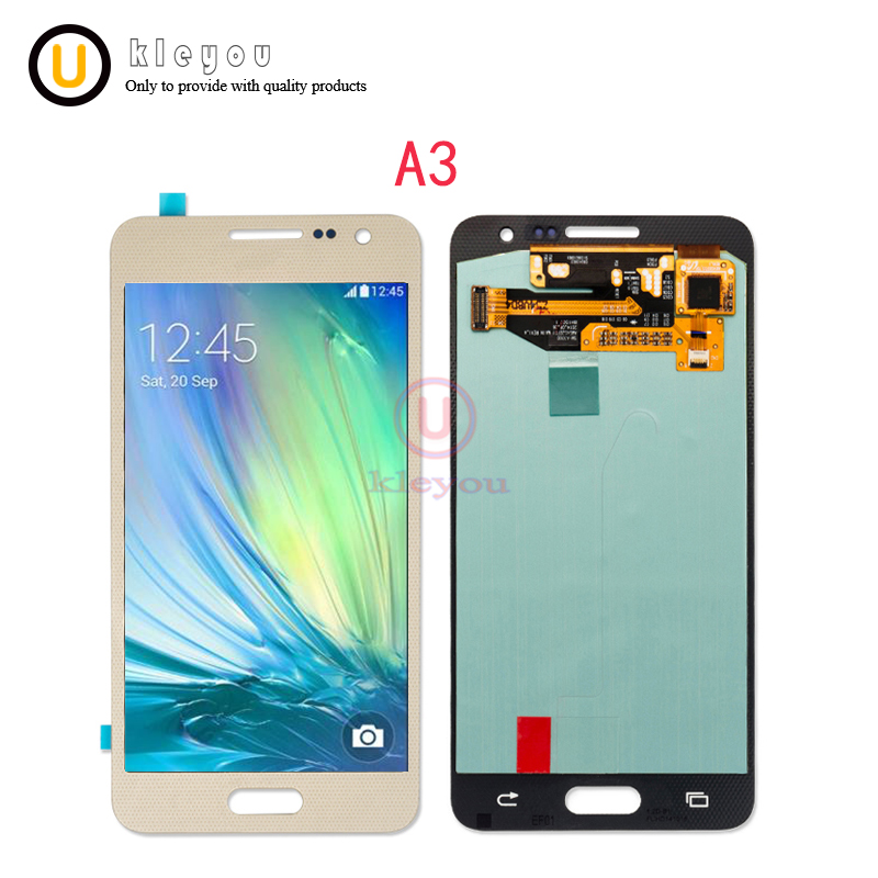 High Quality 4.5 ORIGINAL LCD for SAMSUNG Galaxy A3 2015 Display A300 A300H A300F A300FU Touch Screen Digitizer ReplacementHigh Quality 4.5 ORIGINAL LCD for SAMSUNG Galaxy A3 2015 Display A300 A300H A300F A300FU Touch Screen Digitizer Replacement